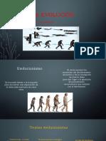 Vida-evolución Filosofia de la naturaleza