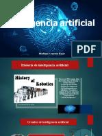 Diapositiva de Inteligencia Artificial