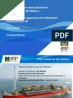 Explosão FPSO CDSM_Fundacentro_2016_Caroline