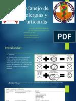 Manejo de Alergias y Urticarias