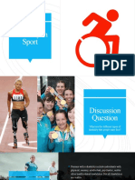 disability in sport