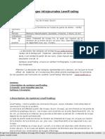 fr Système des échanges intrajournales LevelTrading
