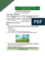 SESION DE APRENDIZAJ 16-09-20