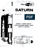 Saturn VLaunch Vehicle Flight Evaluation Report - AS-507 Apollo 12 Mission