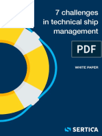 SERTICA_7 Challenges in Technical Ship Management