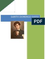 MONOGRAFIA DOMINGO SAVIO