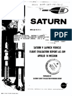 Saturn V Launch Vehicle Flight Evaluation Report - AS-509 Apollo 14 Mission
