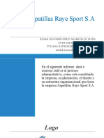 Grupo 7 Zapatillas Raye Sport S