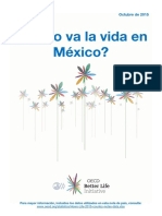 Better Life Initiative country note Mexico in Espagnol