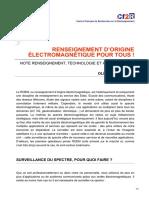 cf2r.org-Renseignement dorigine électromagnétique pour tous