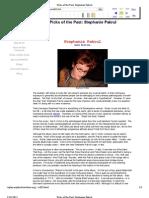 Femalefront.com Review - Stephanie Pakrul