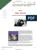 Femalefront.com - The Slits