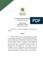 50587-20.docx prueba se referencia, violencia de género, excepción al deber de declarar vía @CarlosGuzman122