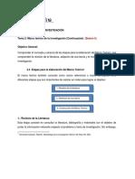 Metodología de la Investigación 5. Sesión 5