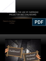 Maximizing-the-Use-of-Overhead-Projector-and-Chalkboard-revised