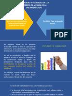 FACTIBILIDAD Y VIABILIDAD DE LOS PROCESOS DE MEJORA DE LA ORGANIZACIONAL