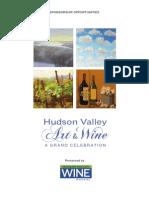 Hudson Valley Art & Wine - The Grand Celebration Sponsorship Opportunities