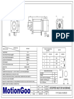Motiongoo Stepper Motor With Brake Drawing-17HT24D4210-EB025