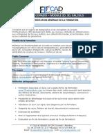 FORMATION COVADIS 2D, 3D, CALCULS - PROGRAMME DE FORMATION -F