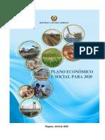 Plano Económico Social  2020 Aprovado pela AR - Documento Oficial (1)