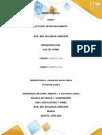 Fase 1 – Actividad de reconocimiento Presentada por XUE CELY PEÑA
