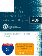 Road Safety Four Lane NH-6970840253