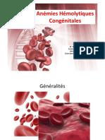 6. Anémies hémolytiques congénitales (1) (Dr AHMIDATOU)