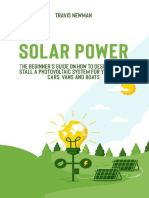 Solar Power The beginner's guide on how to design and install a photovoltaic system for your home, cars, vans and boats.epub
