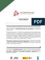RedInterMunicipalExpSignificativas - Resumen Técnico