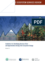 Corporate Ecosystem Services Review