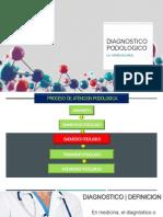 DIAGNOSTICO PODOLOGICO
