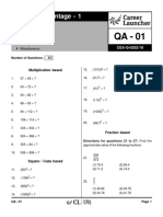 QA-01a _1 Vedic Maths with Solutions