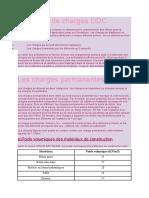 Descente de charges DDC