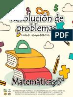 MATEMATICAS 5 GRADO