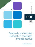 Gestió de La Diversitat Cultural en Contextos Socioeducatius