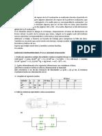 EJERCICIOS COMPLEMENTARIOS  2ª evaluación. 3º E