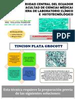 ALMACENAMIENTO TINCION DE GROCOTT