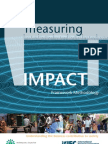 Measuring Impact Methodology