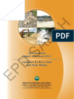 EIA Guidelines River Sand Mining