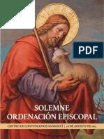 Solemne Ordenacion Episcopal - 26 de Agosto