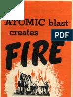 Atomic Blast Creates Fire (1951)