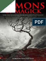 Demons of Magick Gordon w