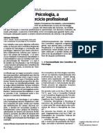 Artigo - Os conselhos - A formação do Psicólogo - O exercício Profissional.pdf