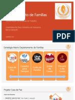 Apresentação Departamento de Famílias
