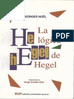 Noel - La Logica de Hegel