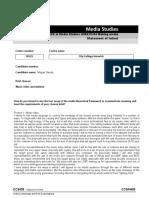 A Level Media Studies Statement of Intent Form Ocr (1)