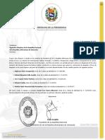 Designación de los miembros del Consejo Nacional de Defensa Judicial