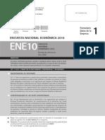 Cuestionario ENE 2010 Datos Empresa (F1)