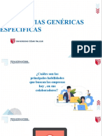 SESIÓN 3 - COMPETENCIAS GENÉRICAS Y ESPECÍFICAS
