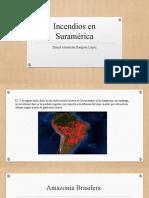 Incendios en Suramérica